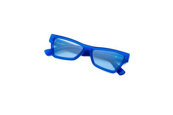 Transparent Blue/Light Blue