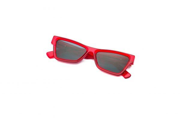 Transparent Red/Black