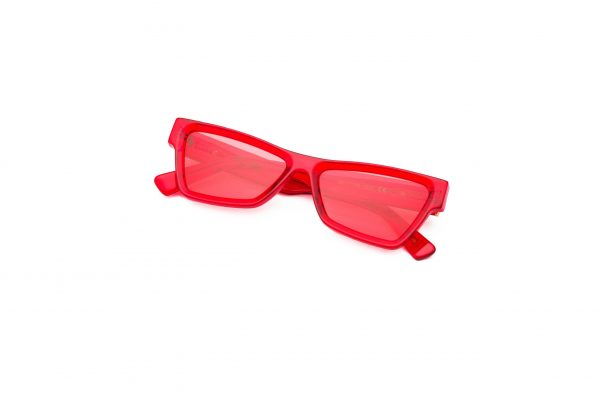 Transparent Red/Crimson Red