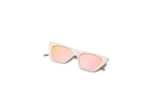 Ivory/Mirrored Pink