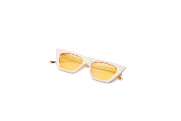 Ivory/Transpa Yellow