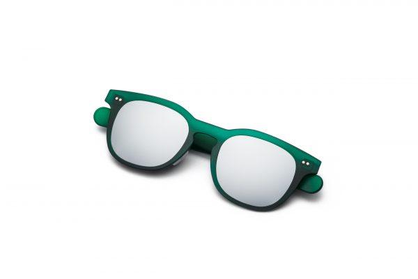 Green/Silver Mirror