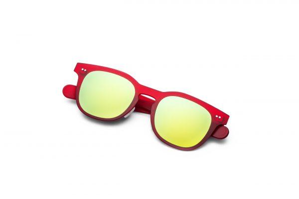 Red/Mirrored Yellow