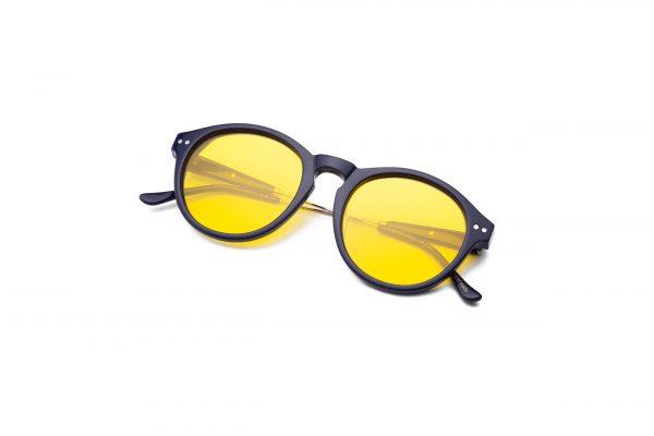 Navy Blue/Transpa Yellow