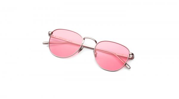 Matt Silver/Transpa Pink