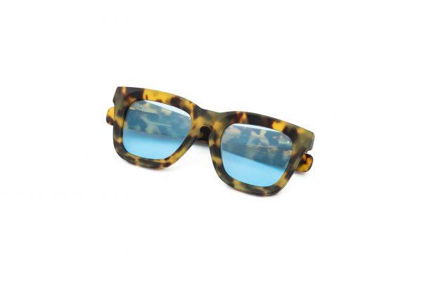 Leopard/Light Blue