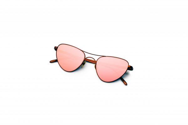 Bronze/Mirrored Pink