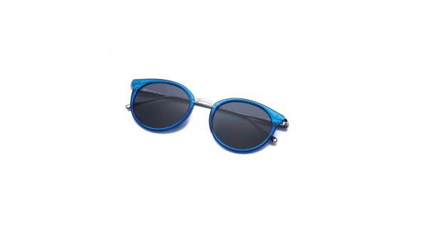 Transparent Blue/Black