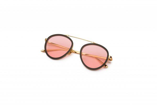 Black-Gold/Transpa Pink