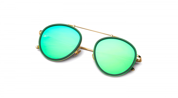 Green-Gold/Mirrored Green