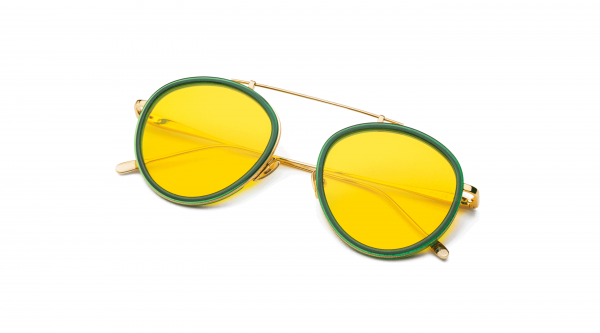 Green-Gold/Transpa Yellow