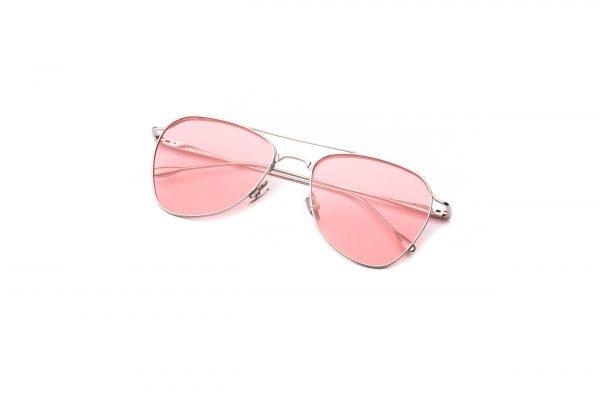 Shiny Silver/Transpa Pink