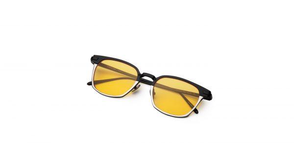 Black-Silver/Transpa Yellow