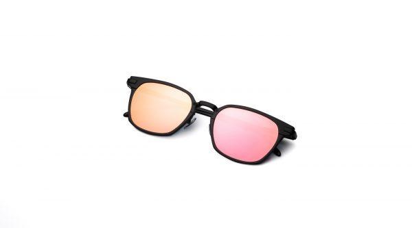 Black/Mirrored Pink