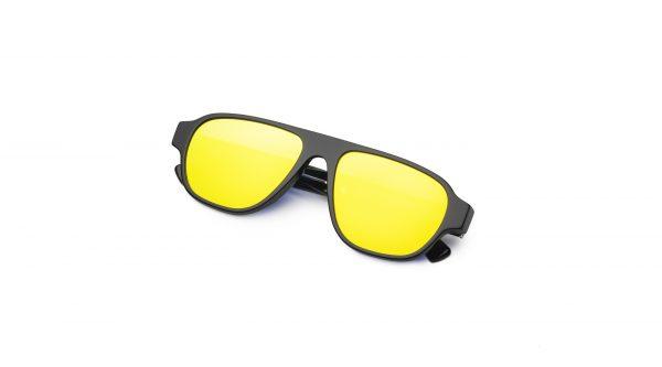 Black/Mirrored Yellow