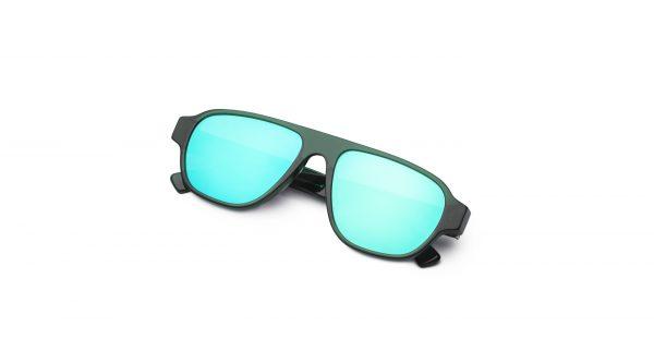 Transpa Green/Mirrored Green